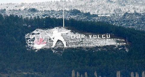 Çanakkale'den Kar Manzarası