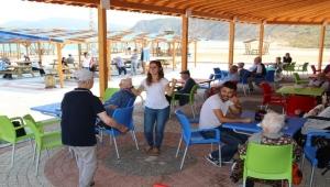 Aksaz Halk Plajında Sezon Açıldı