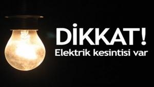 Dikkat! Çanakkale Merkez'de Elektrik Kesintisi