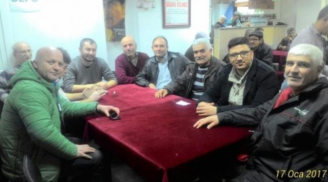 AK Parti Kepez'de çalışmalarını sürdürüyor