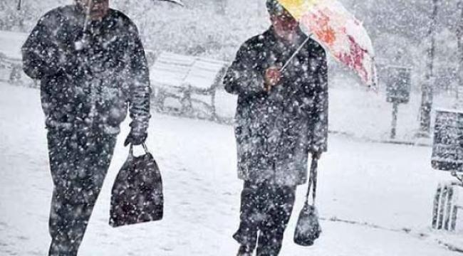 Çanakkale'ye kar yine geliyor..
