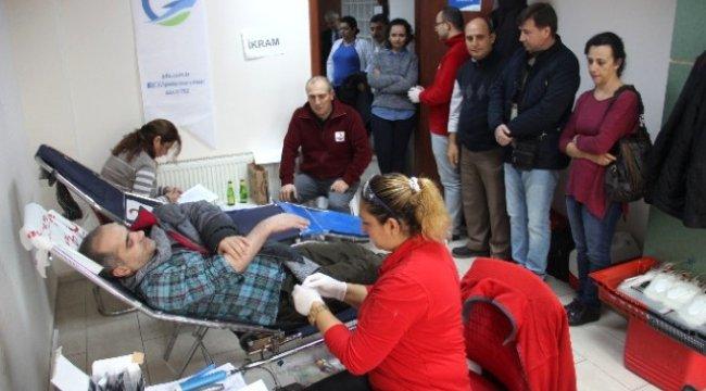 Gestaş Personeli Kan Bağışında Bulundu
