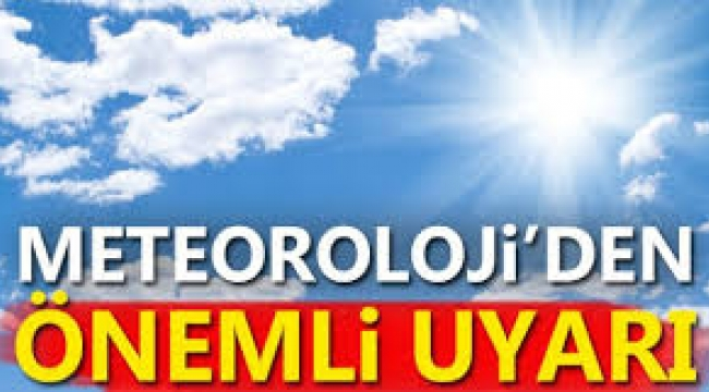 Meteoroloji'den