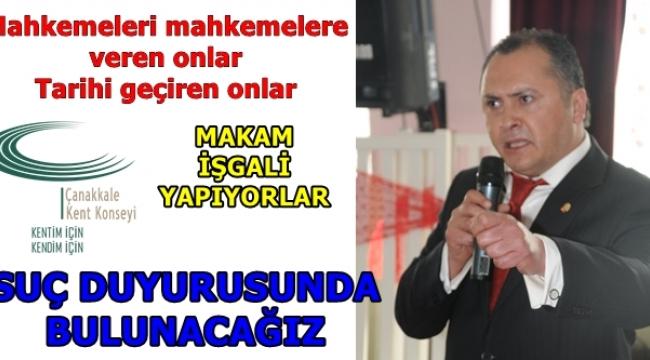 SUÇ İŞLİYORLAR