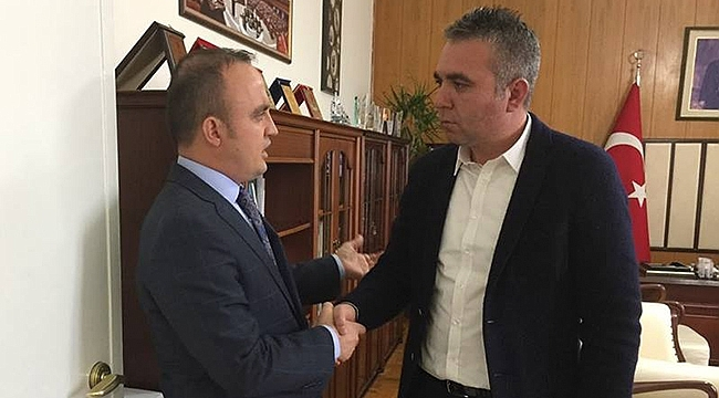 Ziraat Odası'ndan Bülent Turan'a ziyaret