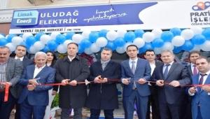 Limak Uludağ Elektrik, Çanakkale'de iki YİM'i hizmete açtı
