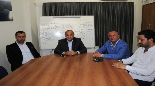AK Partili Gider'den Başkan Kandemir'e ziyaret