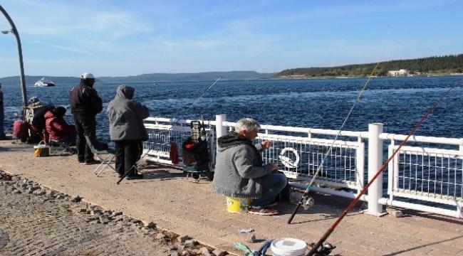 Av yasağı olta balıkçılarını sevindirdi