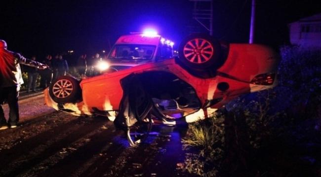 Çanakkale'de kaza: 3 yaralı