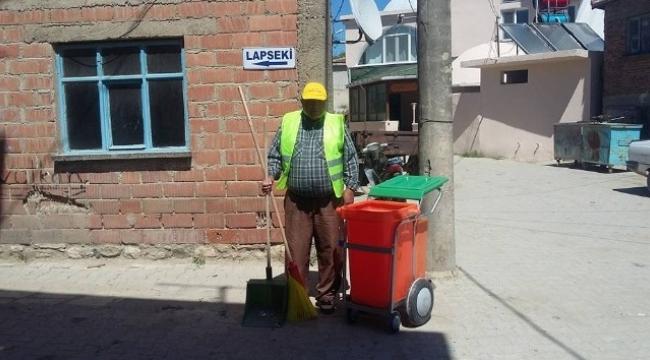 Köylerde temizlik çalışması