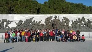 Vosvos severler Çanakkale şehitlerini unutmadı