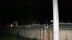 Bayramiç'te elektrik trafosu patladı