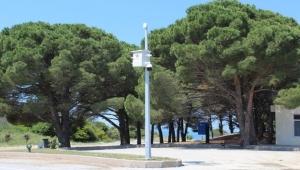 Çanakkale Şehitliğine güvenlik kamerası sistemi