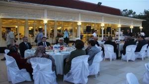 Şehit aileleri ve gaziler iftar yemeğinde bir araya geldi