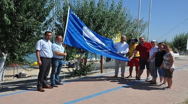 Kadınlar Hamamı Plajı 'mavi bayrak' aldı.