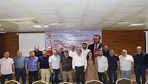 Başkan Karadağ il başkanları toplantısını değerlendirdi