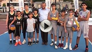 Umurbey Belediyesi tarafından düzenlenen Streetball Turnuvası Başladı