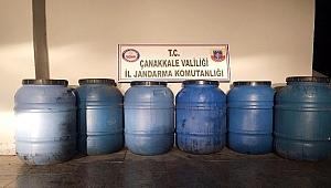 Çanakkale'de yılbaşı öncesi kaçak içki operasyonu
