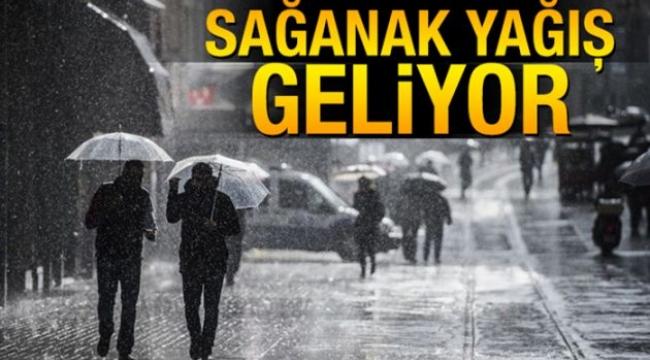 Meteoroloji Çanakkale için Kuvvetli Yağış Uyarısında Bulundu!