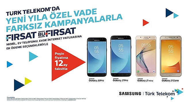 Türk Telekom'dan Yeni Yıla Yeni Akıllı Telefon Fırsatı