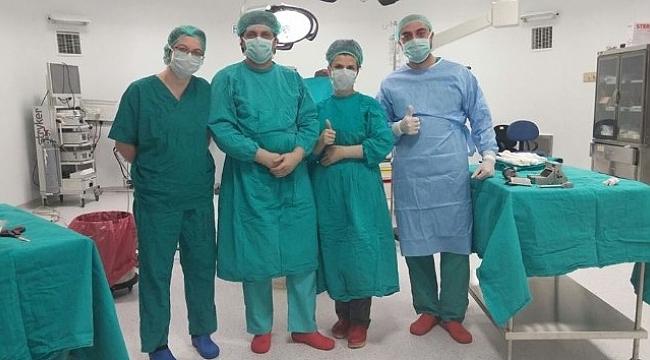 Çanakkale'de yanık ünitesinde ilk operasyon yapıldı