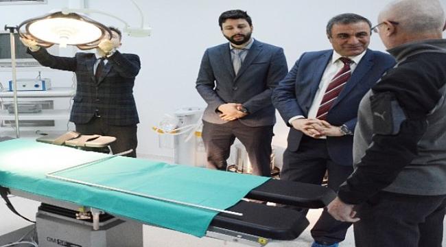 İl Sağlık Müdürü Taşçı lapseki Devlet Hastanesi'ni inceledi