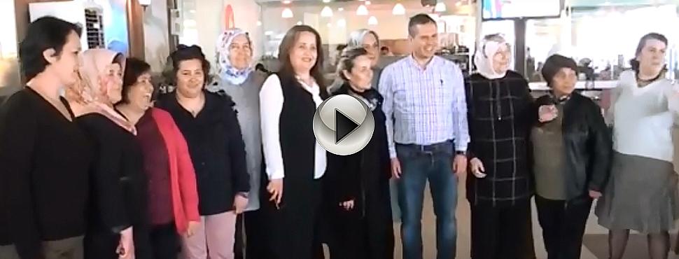Ak Partili Kadınlardan Birlik Beraberlik Mesajı