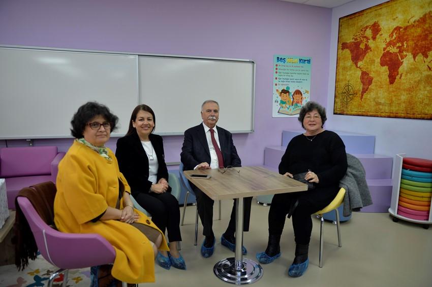 Başkan Gökhan Okul Ziyaretlerine Devam Ediyor…