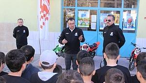 Güvenli Motosiklet Eğitimi' Projesi Başladı