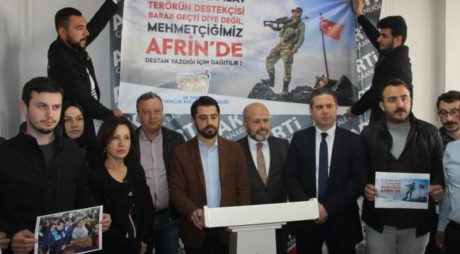 HDP için serbest Afrin için yasak