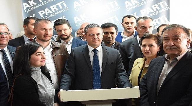 AK Parti Çanakkale İl Başkanı Gültekin Yıldız oldu