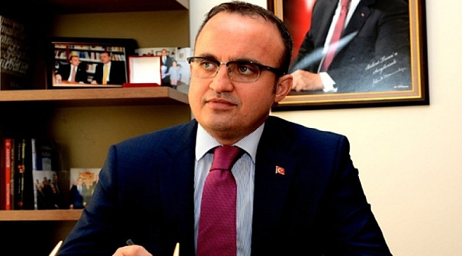 AK Parti Grup Başkanvekili Bülent Turan'dan Miraç Kandili Mesajı