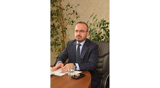 Ak Parti Grup Başkanvekili Bülent Turan'dan Müjde