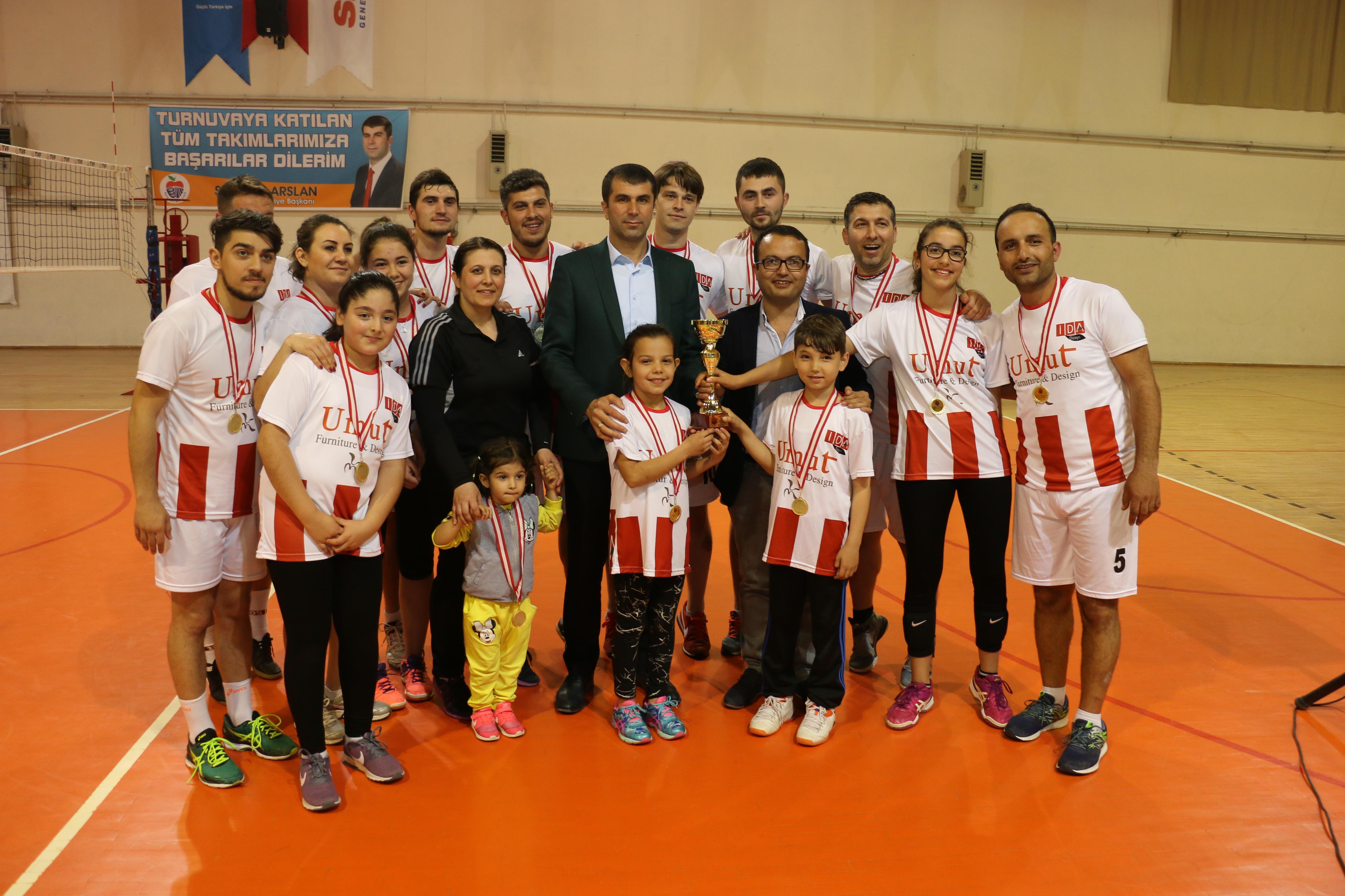 Bayramiç Belediyesi Voleybol Turnuvası Finali Gerçekleştirildi.
