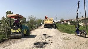 Çan'da Köy Yolları Tamiratına Başlandı