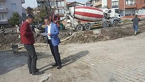Gültekin Yıldız'dan Çanakkale Şehit Yakınları ve Gazi Evi Rehabilitasyon Merkezini Şantiyesine Ziyaret