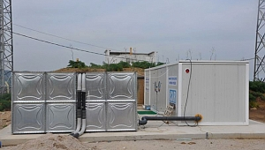 Karabiga'da Yeni Şebeke Suyu Paket Arıtma Sistemi Faaliyete Geçti