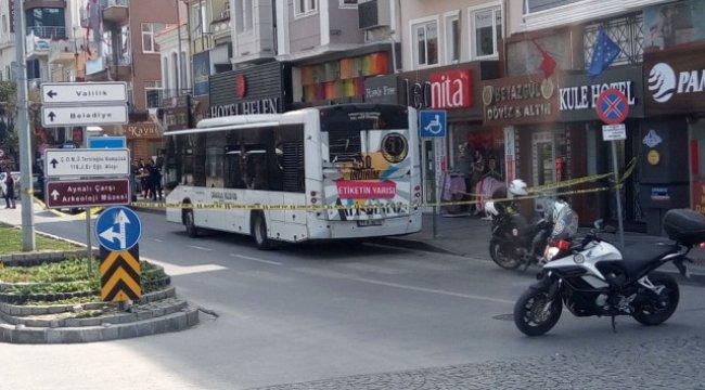 Otobüsteki Şüpheli Valiz Korkuttu