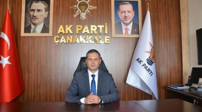 AK Parti Çanakkale İl Başkanı Av. Gültekin YILDIZ'ın 19 Mayıs Mesajı