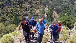 AFAD ve Jandarma Ekipleri Yaşlı Adamı 18 Saat Sonra Sağ Olarak Buldu