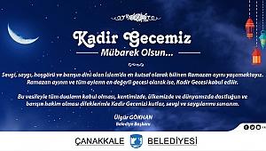 Belediye Başkanı Sayın Ülgür Gökhan'ın Kadir Gecesi Mesajı…