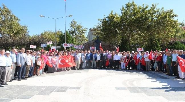 AK Parti'nin 17. Kuruluş yıl dönümü Çanakkale'de kutlandı