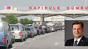 "AK Partili Turan: ""Özgür bey gitsin Kapıkule'de teşekkür etsin.."""