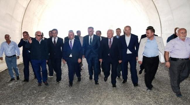 AK Parti'li Turan'dan T2 tüneline inceleme