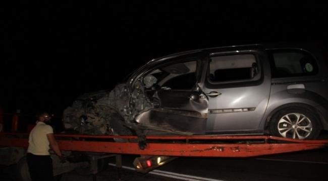 Çan'da trafik kazası: 1 ölü 1 yaralı