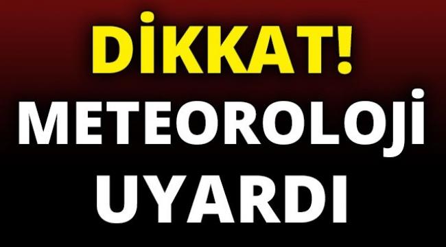 Meteoroloji uyardı Çanakkale'de sıcaklık 8-12 derece azalacak!