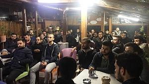 AK Parti Çanakkale İl Gençlik Kolları birlik ve beraberliği kenttin her alanında yaşatıyor