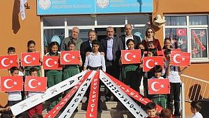 Akça Pınar Köyü'nde 29 Ekim coşkusu