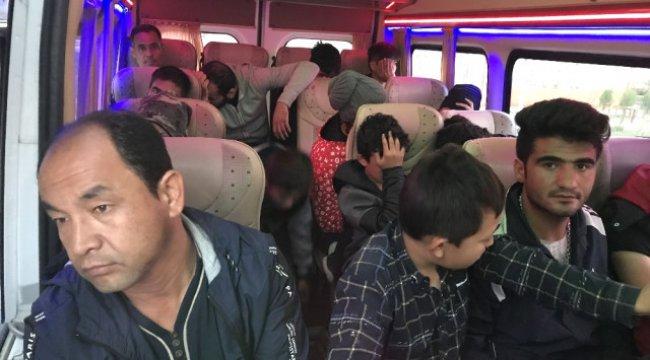 Çanakkale'de 44 Mülteci Yakalandı