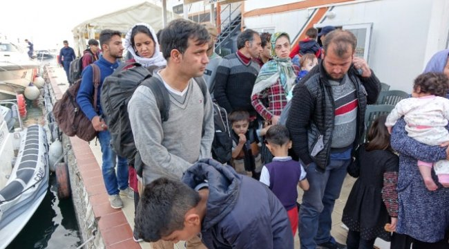 Çanakkale'de 46 Mülteci Yakalandı